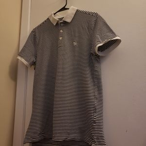 Abercrombie & Fitch Stripped Polo Tee